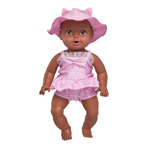 """Perfectly Cute 14"""" My Sweet Beach Baby Doll - Brunette with Brown Eyes - image 1 of 4"""
