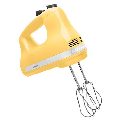 KitchenAid Ultra Power 5-Speed Hand Mixer KHM512 Majestic Yellow