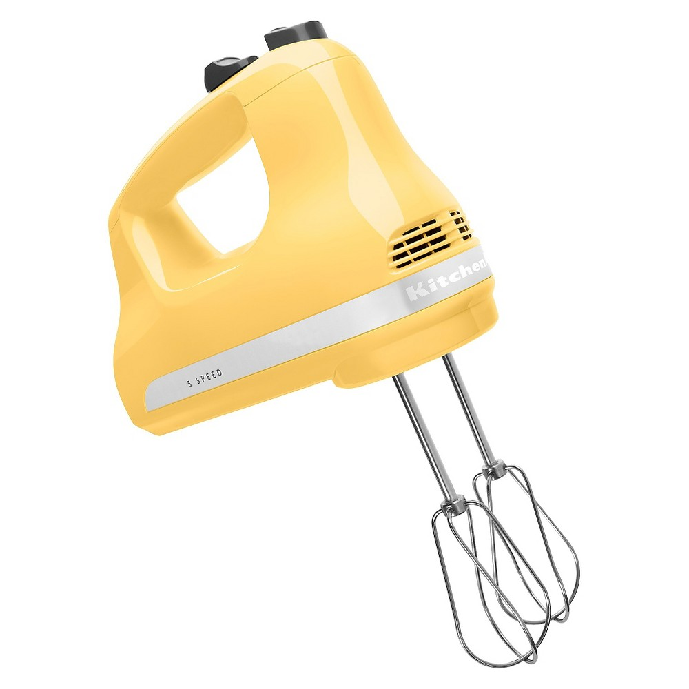 KitchenAid Ultra Power 5-Speed Hand Mixer – KHM512, Majestic Yellow 16700919