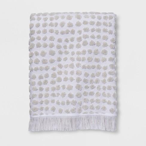 Sculpted Dot Bath Towels - Project 62™ - image 1 of 2