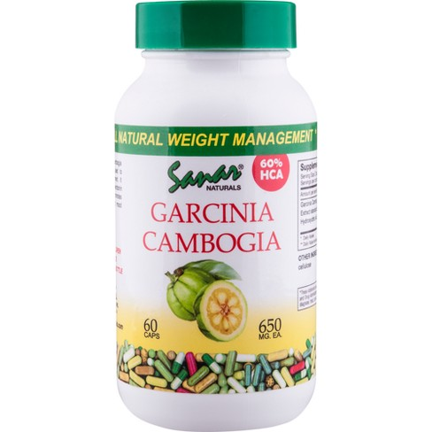 Sanar Naturals Garcinia Cambogia Dietary Supplement Capsules