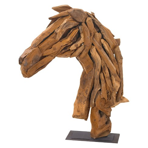 Decorative Horse Head on Stand - image 1 of 1