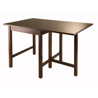 Drop Leaf Dining Table Wood/Toasted Walnut - Winsome