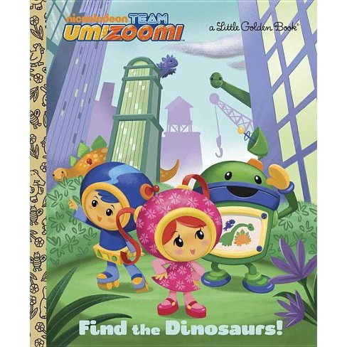 Find the Dinosaurs! - (Little Golden Book) (Hardcover) - image 1 of 1