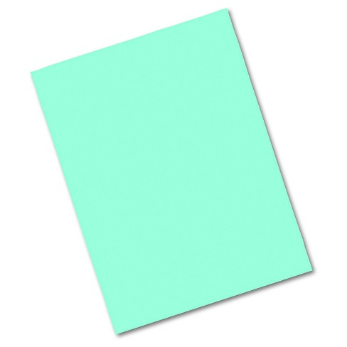 Pacon® Riverside Construction Paper, 76 lbs., 9 x 12 - Blue/Green (50 Sheets Per Pack) - image 1 of 1