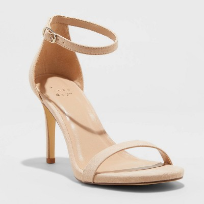 Women's Gillie Stiletto Heeled Pumps - A New Day™
