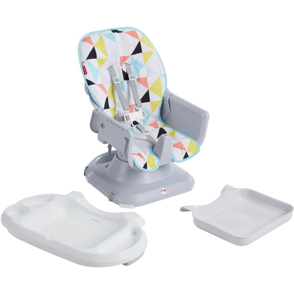 Fisher-Price SpaceSaver High Chair - Windmill, Multi-Colored