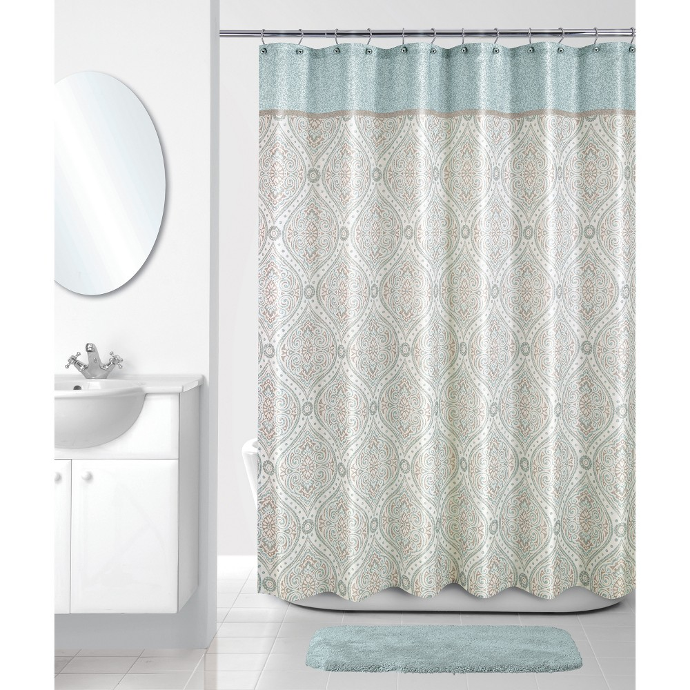Image of Balmoral Shower Curtain Ivory - Allure Home Creation