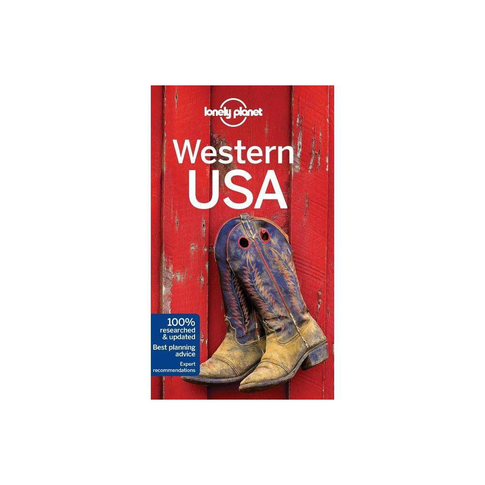 Lonely Planet Western Usa Travel Guide 3rd Edition Hardcover