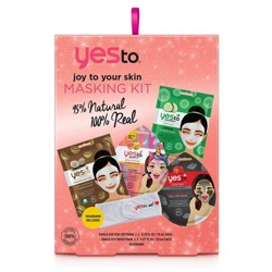 Yes To Joy To Your Skin Masking Kit - 4ct