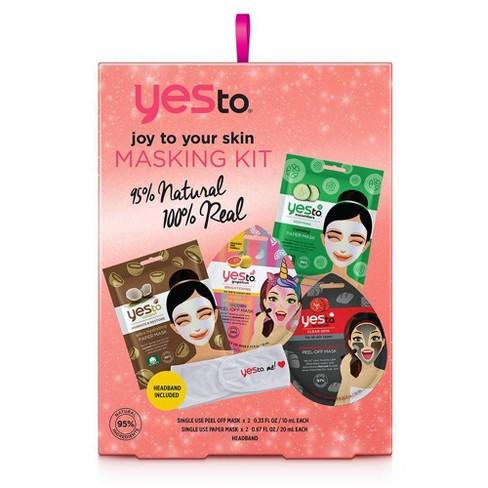 Yes To Joy To Your Skin Masking Kit - 4ct - image 1 of 2