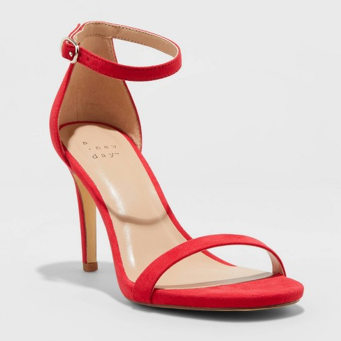 Women's Gillie Stiletto Heeled Pumps - A New Day™ - image 1 of 3