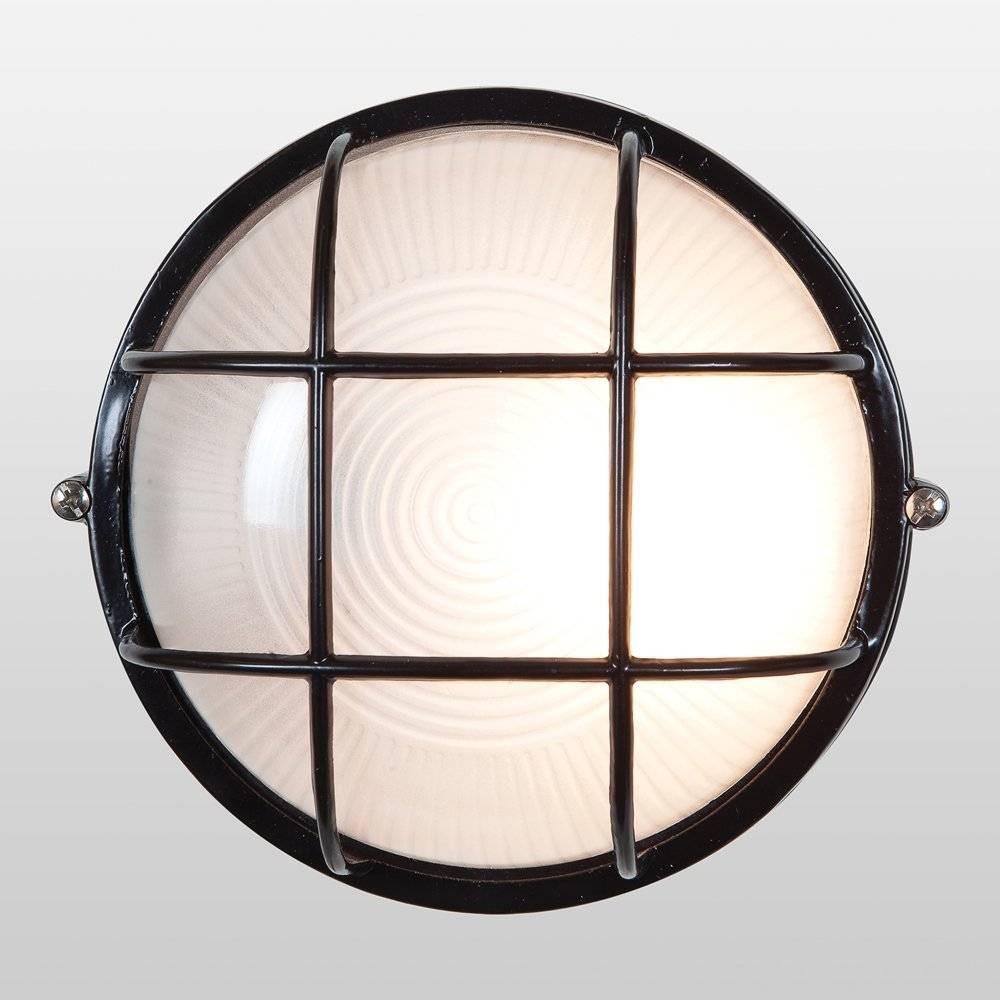 Image of 10 Nauticus Round Outdoor Wall Light Black - Access Lighting
