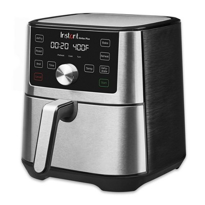 Instant Pot Vortex Plus 6 qt 7-in-1 Air Fryer Toaster Oven Stainless Steel
