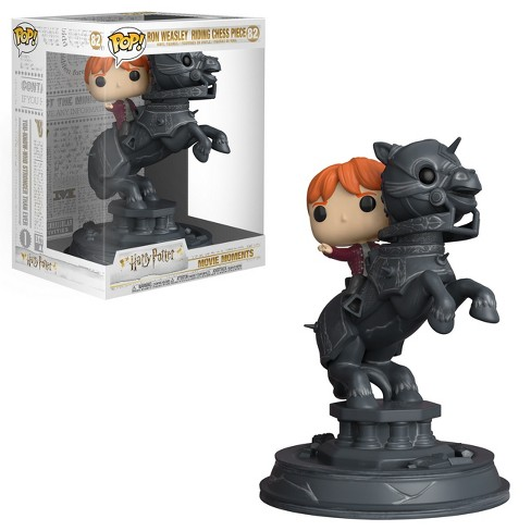 Funko POP! Movie Moments: Ron Weasley Riding Chess Piece - image 1 of 3