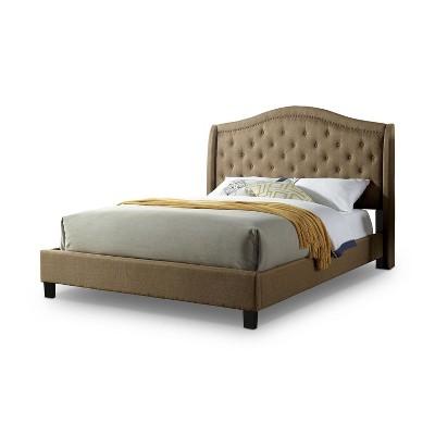 Bantris Tufted Headboard Platform Bed - HOMES: Inside + Out