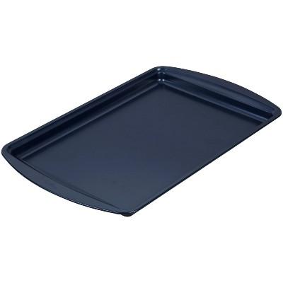 "Wilton 15.2""x10.2"" Diamond-Infused Medium Baking Sheet Navy Blue"
