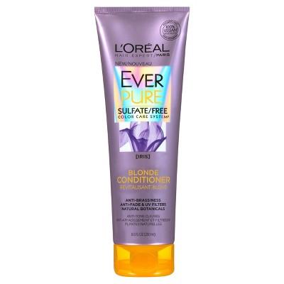 Shampoo & Conditioner: L'Oreal Paris EverPure Blonde