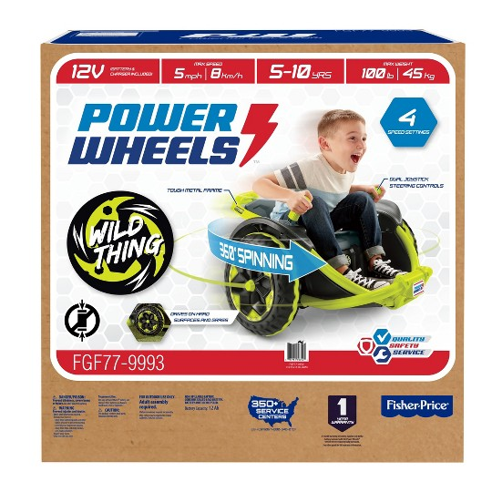 Power Wheels Wild Thing - Green image number null