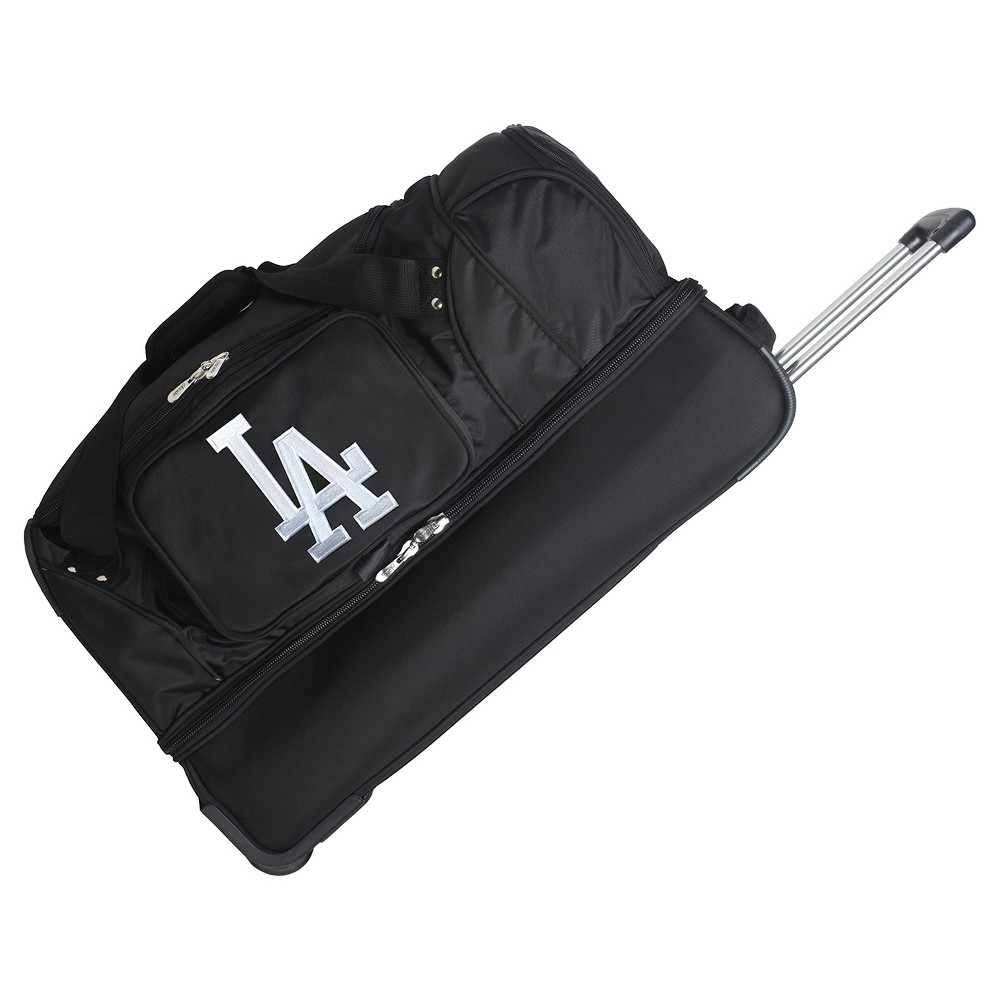 MLB Los Angeles Dodgers 27 Rolling Drop Bottom Duffel Bag