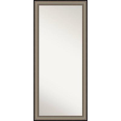 """29"""" x 65"""" Imperial Framed Full Length Floor Leaner Mirror - Amanti Art"""