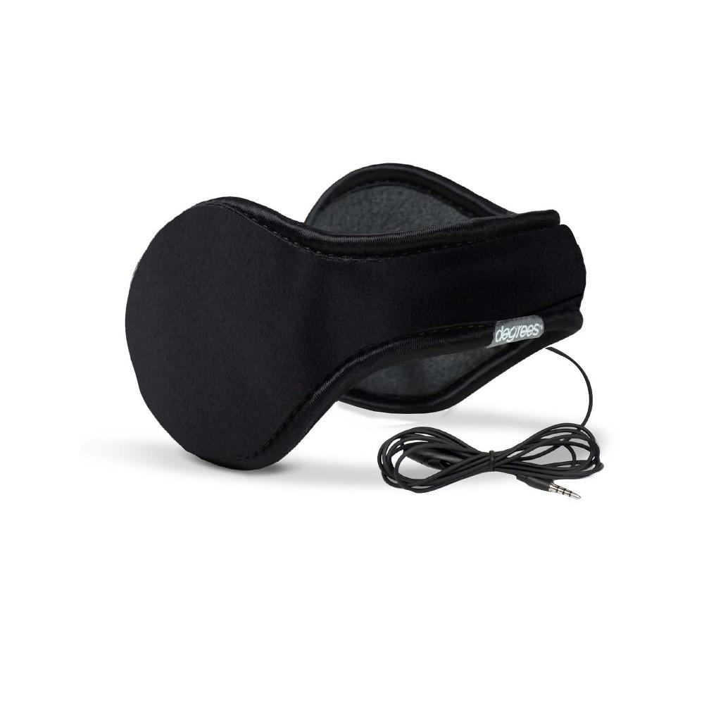 Image of Degree by 180s Commuter Warmer Earmuffs - Black One Size, Men's