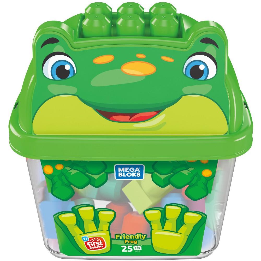Mega Bloks Friendly Frog Animal Bucket