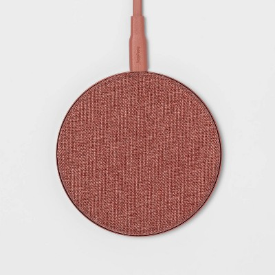 heyday™ Qi Wireless 10W Charging Pad - Autumn Red
