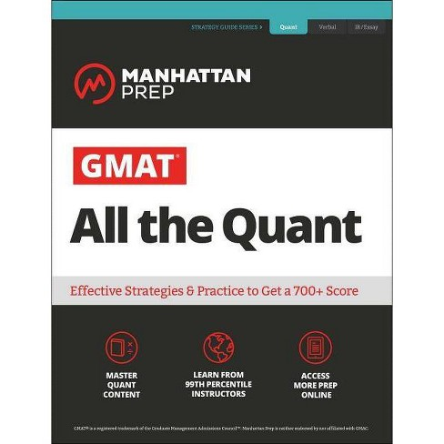 GMAT All the Quant - (Manhattan Prep GMAT Strategy Guides) 7 Edition  (Paperback)