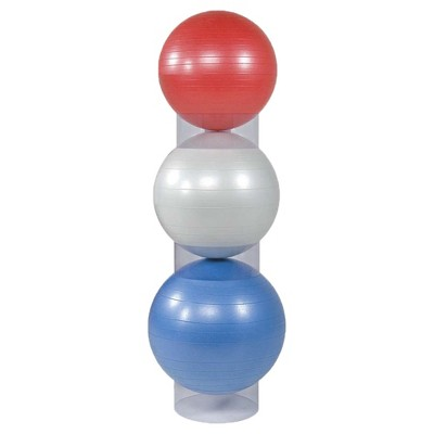 Power Systems 81020 Home Gym Stability Ball Storage Stackers for 45 to 75 cm Balls, Set of 3 Stackers