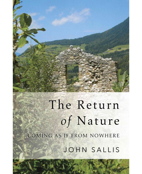 Return of Nature : On the Beyond of Sense (Paperback) (John Sallis) - image 1 of 1