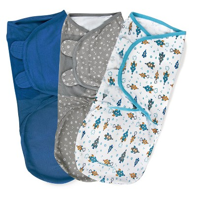 SwaddleMe Original Swaddle 3-6M - 3pk Superstar L