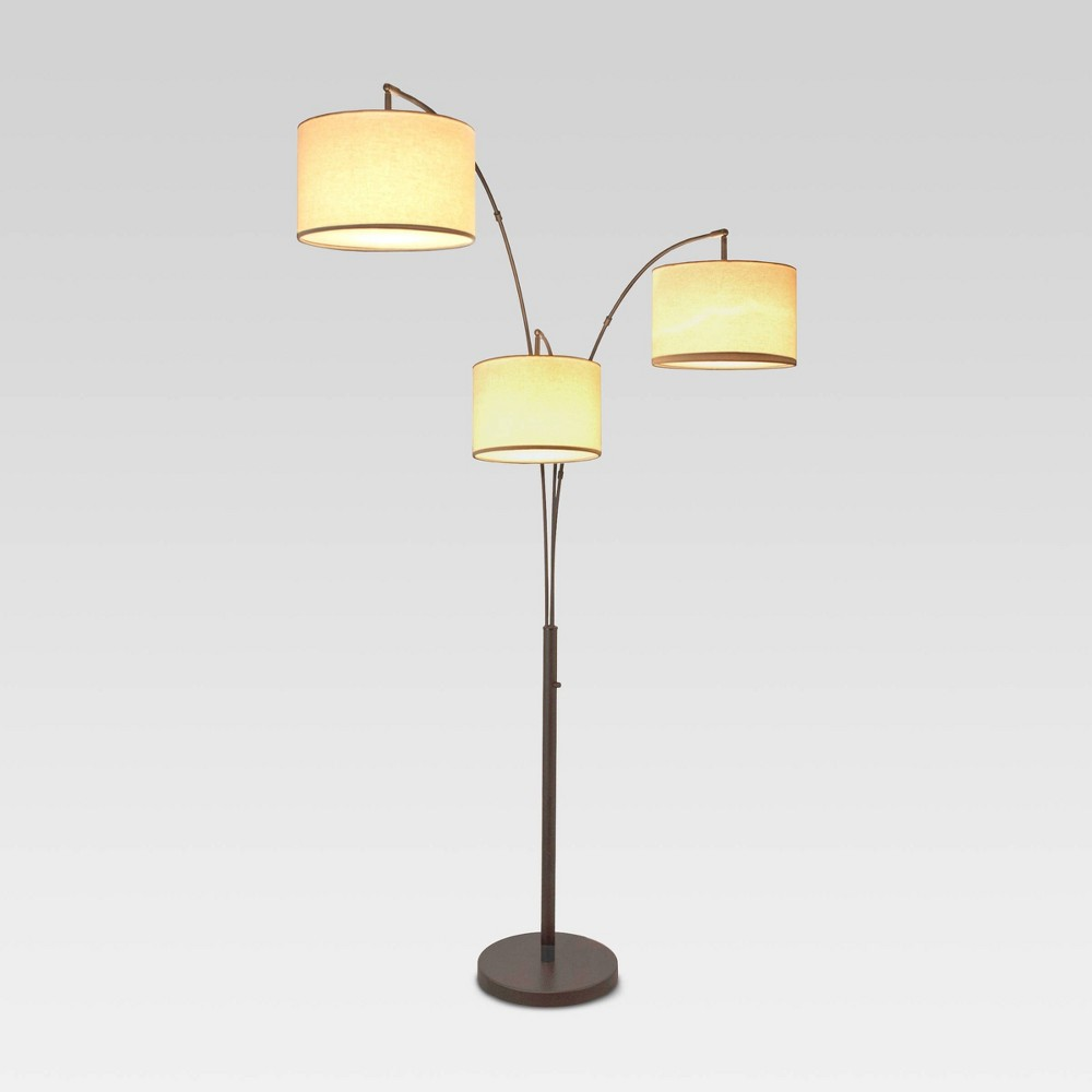 Project 17 Avenal Shaded Arc Floor Lamp Includes Energy Efficient