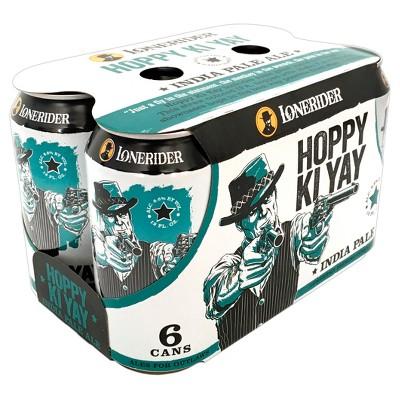 Lonerider Hoppy Ki Yay IPA Beer - 6pk/12 fl oz Cans