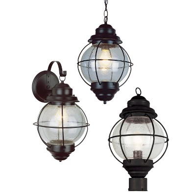Outdoor Ceiling Lights - Black - Bel Air Lighting