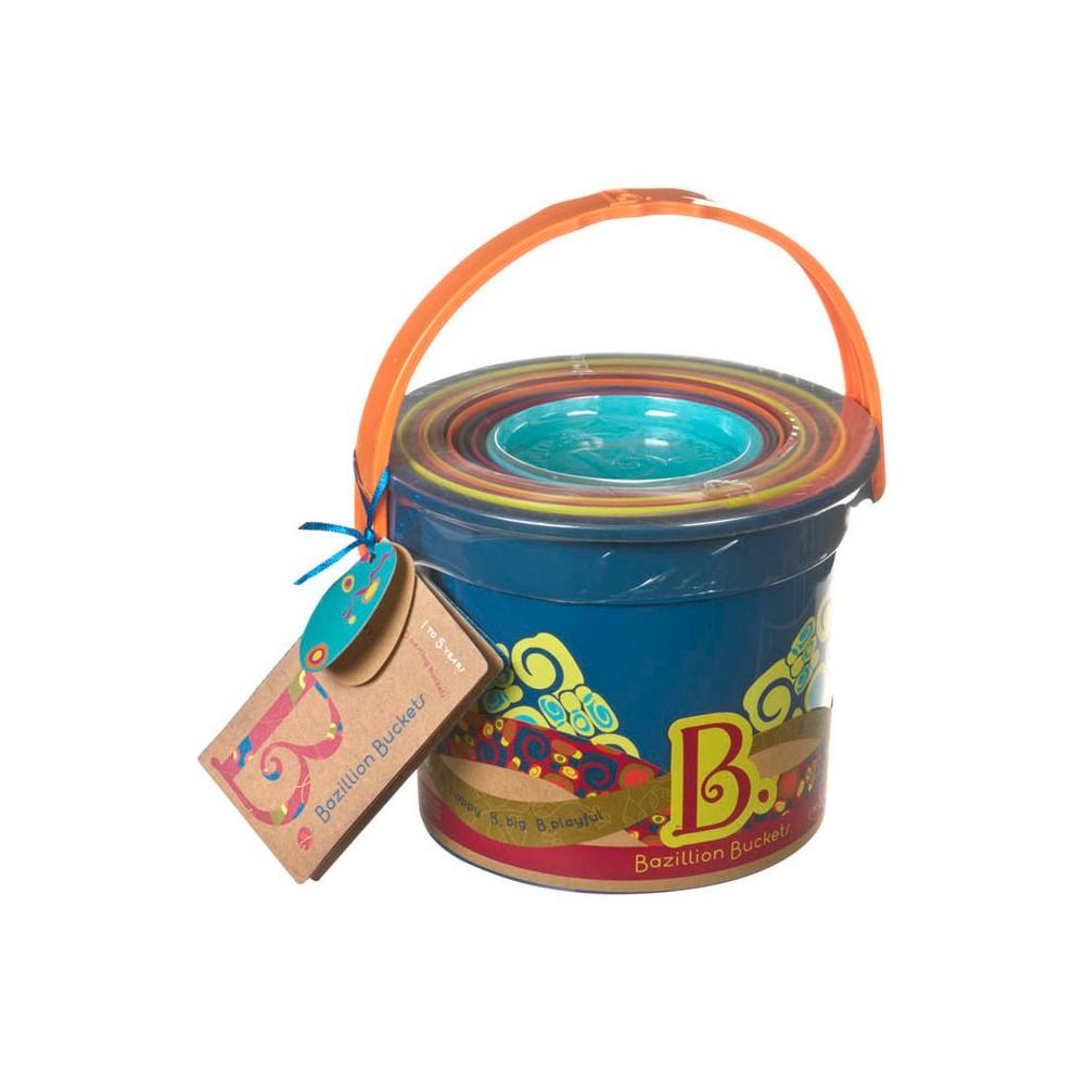 B. Bazillion Buckets - Nested Plastic Buckets