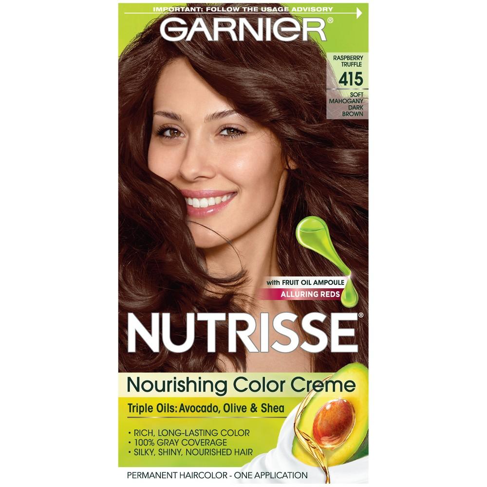 Garnier Nutrisse Hair Color Dark Brown Hair Color Compare Prices
