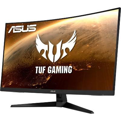 ASUS TUF VG32VQ1B 31.5 Inch WQHD 2560 x 1440 165Hz 1ms FreeSync Premium / Adaptive-sync Extreme Low Motion Blur Curved Gaming Monitor, Black