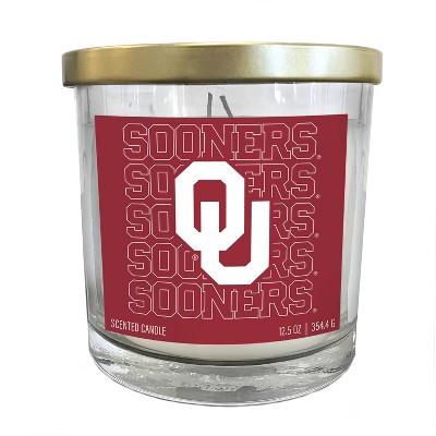 NCAA Oklahoma Sooners Echo Team Candle