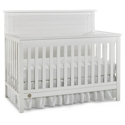 Fisher-Price Quinn 4-in-1 Convertible Crib - Weathered Snow White