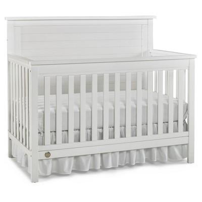 Fisher-Price Standard Full-sized Crib - Weathered Snow White