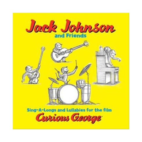 Jack Johnson - Sing-A-Longs and Lullabies for The Film Curious George (Vinyl) - image 1 of 1
