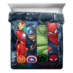 Marvel Avengers Twin Reversible Comforter