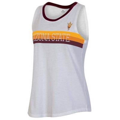 NCAA Arizona State Sun Devils Women's White Tank Top