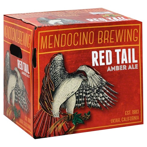 Mendocino® Red Tail Amber Ale - 12pk / 12oz Bottles - image 1 of 1