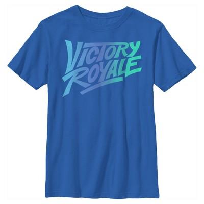 Boy's Fortnite Victory Royale Gradient Logo T-Shirt