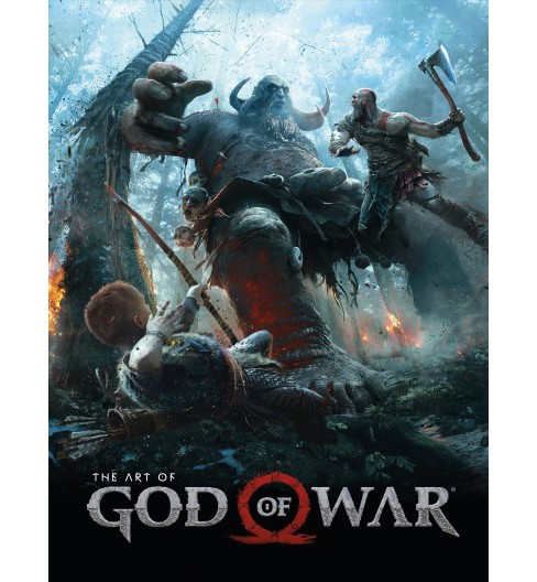 Art of God of War -  by Evan Shamoon (Hardcover) - image 1 of 1