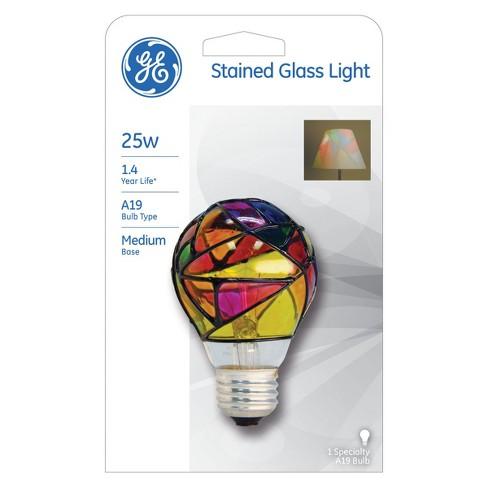 GE 25-Watt Incandescent Party Light Bulb - Tiffany - image 1 of 2