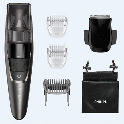 Philips Norelco Model 7500 Beard & Hair Men's Electric Trimmer with Vacuum - BT7515/49