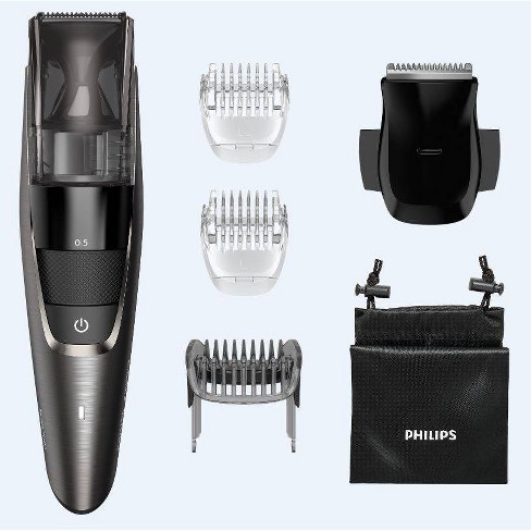 Philips Norelco Model 7500 Beard & Hair Men's Electric Trimmer with Vacuum - BT7515/49 - image 1 of 4